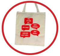 Bref, du coup, heu...Tote Bag - Click to enlarge picture.