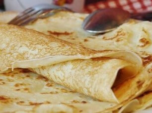 Special crepes breakfast