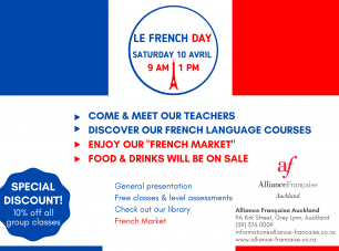 10 APRIL - French Day